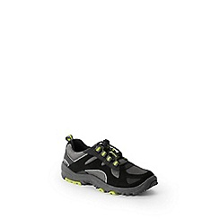 Lands' End - Black kids' trekker shoes