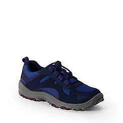 Lands' End - Blue kids' trekker shoes