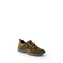 Lands' End - Green kids' trekker shoes