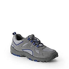 Lands' End - Grey kids' trekker shoes
