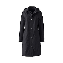 Lands' End - Black plus coastal rain coat