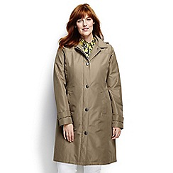 Lands' End - Beige plus coastal rain coat