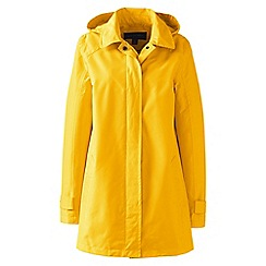 Lands' End - Yellow coastal rain parka