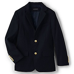 Lands' End - Boys Blue wool blazer