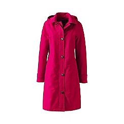 Lands' End - Red petite coastal rain coat