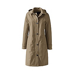 Lands' End - Beige petite coastal rain coat