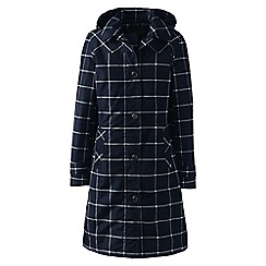 Lands' End - Blue print coastal rain coat