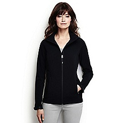 Lands' End - Black petite softshell jacket