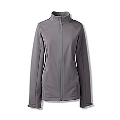Lands' End - Grey petite softshell jacket