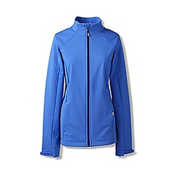 Lands' End - Blue petite softshell jacket