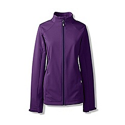 Lands' End - Purple petite softshell jacket