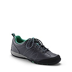 Lands' End - Grey wide trail hiker shoes
