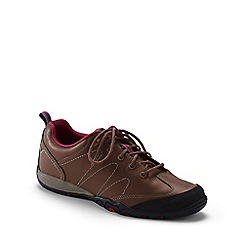 Lands' End - Brown wide trail hiker shoes