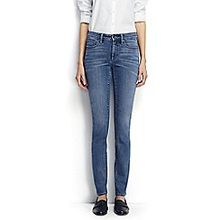 Lands' End - Blue regular mid rise slim leg xtra life jeans