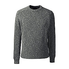 Lands' End - Grey marled drifter sweater