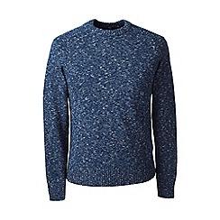 Lands' End - Blue marled drifter sweater