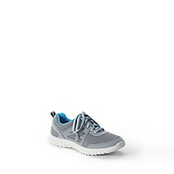 Lands' End - Grey kids' active trainers