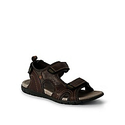 Lands' End - Brown regular open-toe sandals