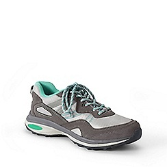 Lands' End - Grey  wide trekker shoes
