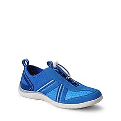 Lands' End - Blue  wide water shoes