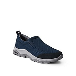 Lands' End - Blue wide mesh trekker shoes