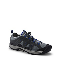 Lands' End - Grey wide rugged water shoes