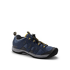 Lands' End - Blue wide rugged water shoes