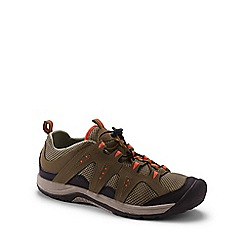 Lands' End - Brown wide rugged water shoes