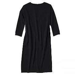 Lands' End - Black women's cocoon dress