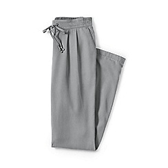 Lands' End - Grey regular soft trousers
