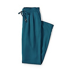 Lands' End - Blue regular soft trousers