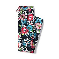 Lands' End - Multi regular floral soft trousers