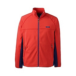Lands' End - Orange softshell jacket