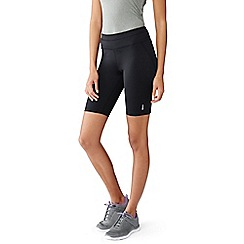 Lands' End - Black control slim workout shorts
