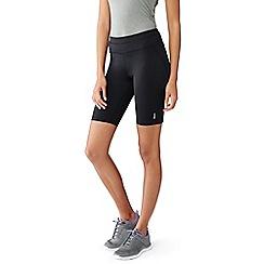 Lands' End - Black control slim workout shorts