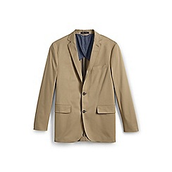 Lands' End - Brown stretch chino blazer