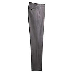 Lands' End - Grey tailored stretch chinos