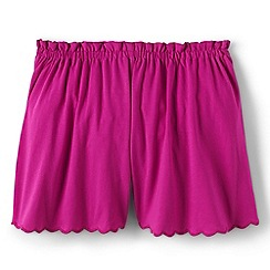 Lands' End - Pink girls' jersey culottes