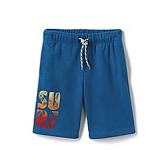 Lands' End - Blue boys' graphic jersey shorts