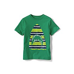 Lands' End - Boys' Green graphic tee
