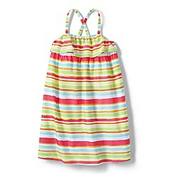 Lands' End - Girls' Multi strappy sun dress