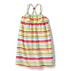 Lands' End - Girls' Multi woven sleeveless dress