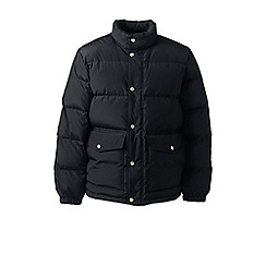 Lands' End - Black down jacket
