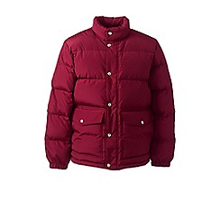 Lands' End - Red down jacket