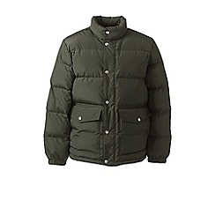 Lands' End - Green down jacket
