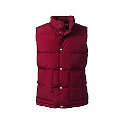 Lands' End - Red down gilet