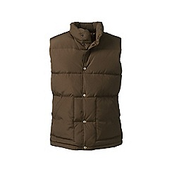 Lands' End - Brown down gilet