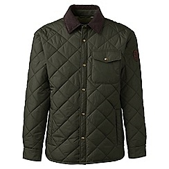 Lands' End - Green regular quilted primaloft jacket