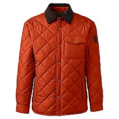 Lands' End - Orange regular quilted primaloft jacket