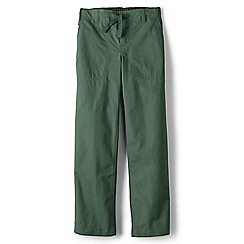 Lands' End - Boys Toddler Green iron knee beach trousers